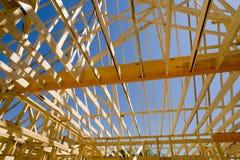 建筑家庭新的站点 免版税库存图片
