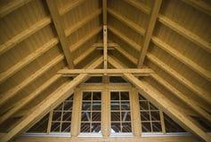 建筑屋顶顶层 免版税库存图片