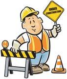 建筑工人 向量例证
