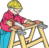 建筑工人 库存图片