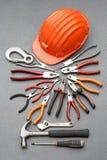 建筑工具 免版税库存图片
