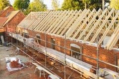 建筑工地英国 免版税库存照片