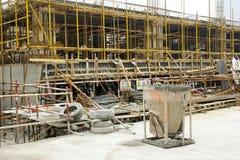 建筑工地 库存照片