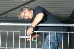建筑工程师楼梯 免版税库存图片