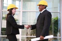 建筑师客户机会议 库存图片