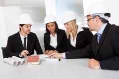 建筑师小组会议 免版税库存图片