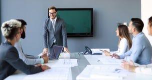 建筑师的图片开会议在办公室 免版税图库摄影