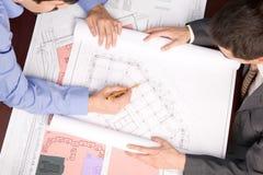 建筑师职业 免版税库存图片