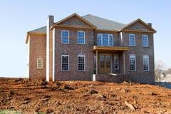 建筑房子新下面 图库摄影