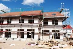 建筑房子新下面 免版税库存图片