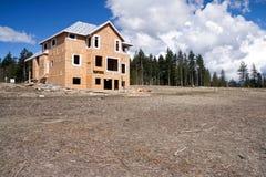 建筑房子新下面 库存图片