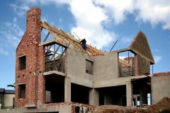 建筑房子 免版税库存照片