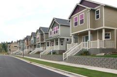 建筑新的街道 免版税库存照片