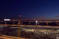 建筑晚上 图库摄影