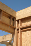 建筑木头 库存图片