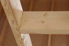 建筑木头 库存照片