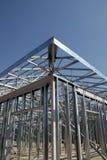 建筑构成的钢 免版税库存图片