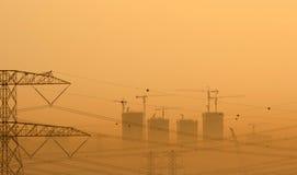 建筑沙漠 免版税图库摄影