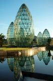 建筑玻璃范围 免版税库存照片