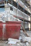 建筑瓦砾 免版税库存图片