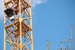 建筑用起重机塔 库存图片