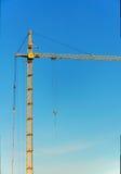 建筑用起重机增强 免版税库存图片