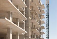 建筑用起重机 免版税库存图片