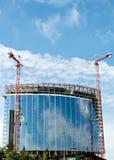 建筑用起重机 免版税图库摄影