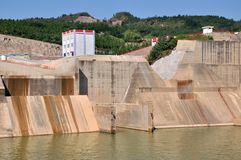 建筑电零件工厂水 库存图片