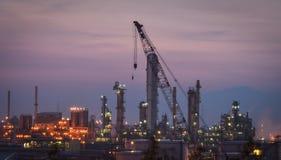 建筑石油化工厂 库存照片