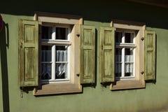 建筑细节在琥珀,德国 库存照片