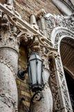 建筑细节-旅馆贝克-圣查尔斯, IL 免版税库存照片