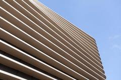 建筑结构抽象线  抽象颜色和设计 免版税库存照片