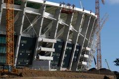 建筑绿色点体育场 库存图片
