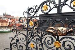 建筑详细资料布拉格 免版税库存照片