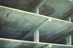 建筑都市场面的站点 库存图片