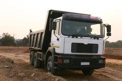 建筑重型卡车 免版税库存照片