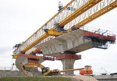 建筑高速公路 免版税库存图片