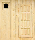 建设中农村房子的墙壁 免版税库存图片