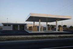 建设中换装燃料的驻地 免版税库存图片