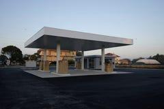 建设中换装燃料的驻地 图库摄影