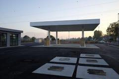 建设中换装燃料的驻地 免版税库存照片