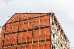 建设中的公寓 免版税库存照片