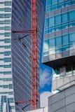 建设中Orco的塔 库存图片