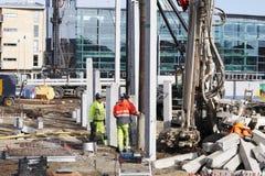 建设工程工作 免版税库存照片