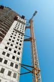 建造场所在迪拜 库存照片