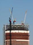建造场所摩天大楼 免版税图库摄影