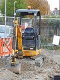 建造场所用管道输送排水设备 免版税库存图片