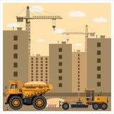 建造场所用设备 库存照片
