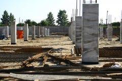 建造场所视图 库存照片